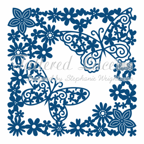 Tattered Lace Die Butterfly Tapestry - D597
